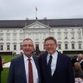 Puig se reúne en Berlín con directivos de la multinacional alemana Thyssenkrupp.