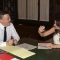 Puig y Oltra acuerdan trasladar a Rajoy la necesidad urgente de cambiar el modelo de financiación.