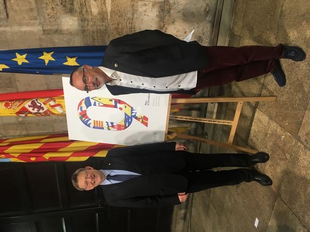 Ribó y Fuset presiden el pregón de Moros y Cristianos (8)