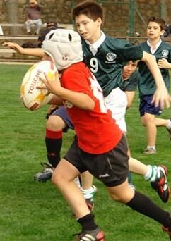 Rugby infantil.