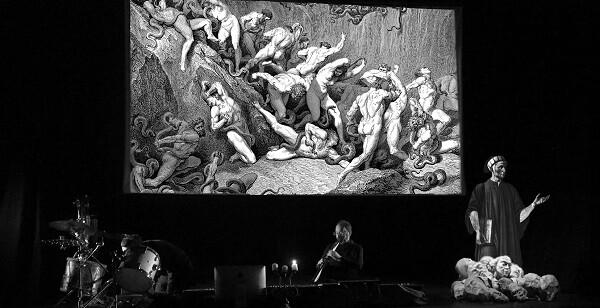Una escena de 'Con Dante'.