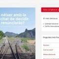 Un juez cierra la web del referéndum catalán.
