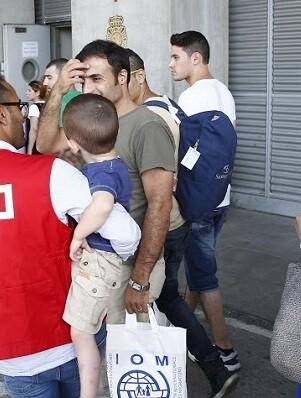 Valencia acogerá 18 refugiados.