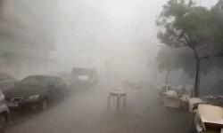 Las fuertes tormentas dejan casi 40 litros en menos de una hora en puntos de Alicante