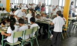 1,17 millones de euros para becas comedor municipales, que garantizan los derechos básicos de 1.110 menores.