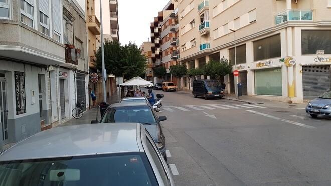 Calle donde se han producido los hechos, en Vinaròs.FERRAN PLA