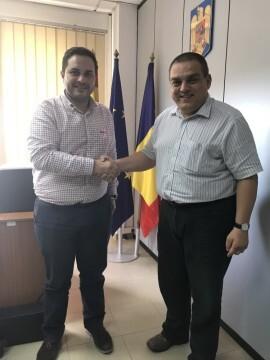 20-10-2017 L'Ajuntament de Castelló i el Consolat de Romania potencien la col•laboració institucional