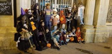 Agrupación La Seu-Xerea-El Mercat celebra Halloween con los más peques (2)