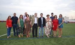 Albal renueva el césped de su campo de fútbol con una ayuda de 80.000 euros de la Diputación.