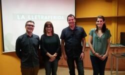Amoraga destaca la selección de escritores europeos que acuden al festival Lletraferida.