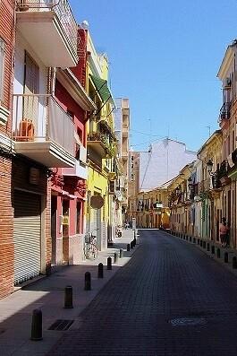 Barrio de El Cabanyal.