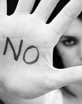 Campaña contra la violencia de género.