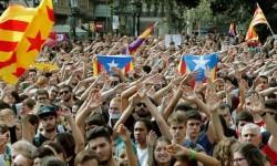 Cataluña comienza una huelga general en protesta por la actuación policial en el 1-O.