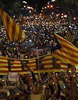 Concentración en Barcelona.