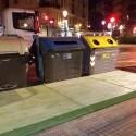 El Ayuntamiento instala las primeras plataformas de accesibilidad a los contenedores en Montolivet