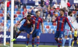 El Levante se impone en Girona por 0-2.