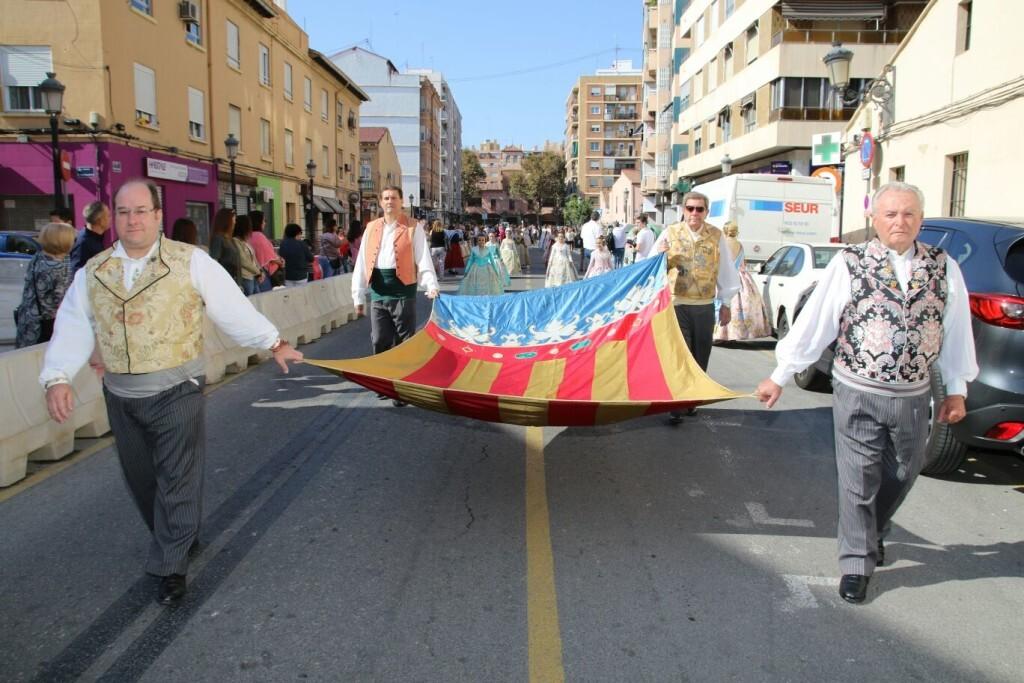 El Marítimo realizó su homenaje a la Senyera (13)