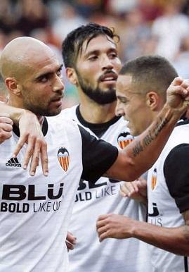 El Valencia se mantiene en zona champions.