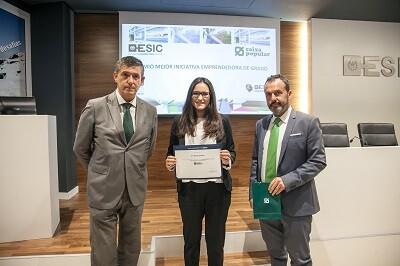 Elena Cervera Ganadora Premios Iniciativa Emprendedora