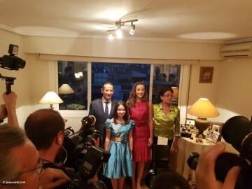 En casa de Rocio Gil Fallera Mayor de Valencia 2018 (1)