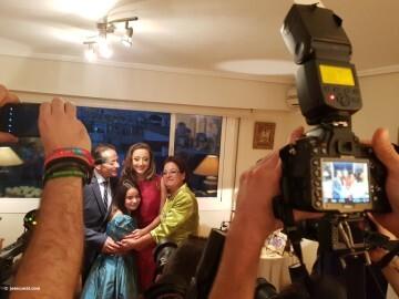 En casa de Rocio Gil Fallera Mayor de Valencia 2018 (2)