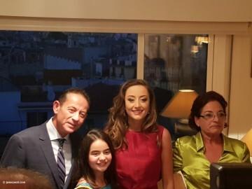 En casa de Rocio Gil Fallera Mayor de Valencia 2018 (3)