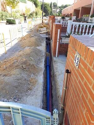 Estas obras reducirán pérdidas y mejorarán la calidad del servicio al ciudadano al sustituir tuberías antiguas con frecuentes averías por otras de nueva generación.