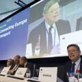 GRA163. BRUSELAS, 10/10/2017.-El presidente de la Comunidad Valenciana Ximo Puig, durante su intervención en la sesión plenaria del Comité Europeo de las Regiones.EFE/ Horst Wagner