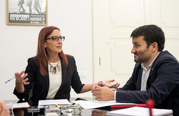 Generalitat y Diputación renovarán la colaboración para impulsar un segundo Plan Municipal de Mantenimiento de Escuelas.