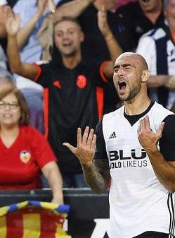 Gran victoria del Valencia.