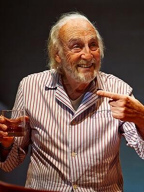 Héctor Alterio. (Foto-Miguel Ángel de Arriba.