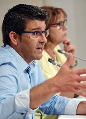 Jorge Rodríguez y Conxa García.