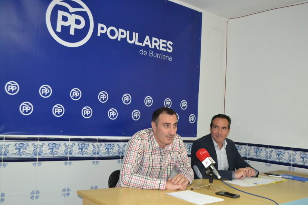 Juan Fuster y Rubén Ibáñez