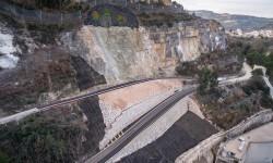 La Diputació y la UPV elaboran el primer modelo tridimensional para controlar las deformaciones de la ladera de Cortes.