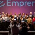 La Diputación asiste en Catarroja a los premios que reconocen el emprendimiento valiente.