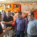 La Diputación mejora la respuesta ante incendios de sus bomberos con nuevas herramientas digitales.