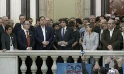 La Fiscalía General del Estado presenta este lunes su querella por rebelión contra Carles Puigdemont.