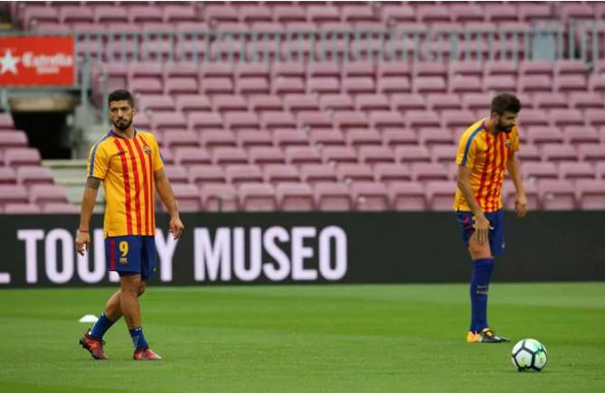 La historia detrás de la camiseta política que utilizó Las Palmas para enfrentar al Barcelona Infobae