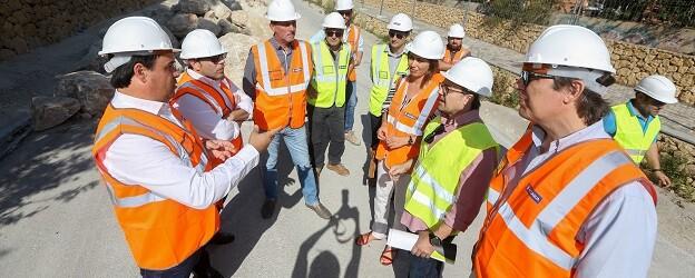 La obra, impulsada desde el Ayuntamiento en colaboración con hidraqua, miminizará los efectos de las inundaciones en la Cala.