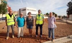 """Las obras del Parque Lineal de Benimàmet """"avanzan a muy buen ritmo""""."""