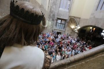 Más de 80.000 personas participan en las actividades organizadas por la Generalitat con motivo del 9 d'Octubre.