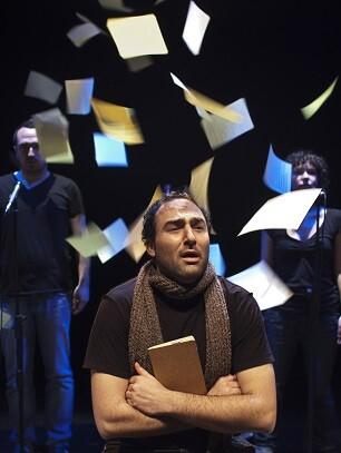 'Miguel Hernández, después del odio' de Crit Companyia de Teatre. (Foto-Miguel Lorenzo).