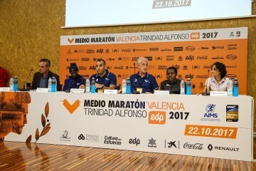Nueve corredores sub 60' y la recordwoman mundial tomarán la salida del Medio Maratón.