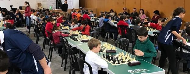 Panorámica de la sala del ajedrez.