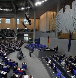 Parlamento alemán.