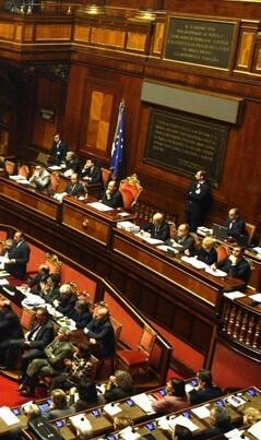 Parlamento italiano.