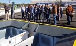 Pilar Soriano visita el nuevo Ecoparque de Paterna que reforzará el servicio público para el vecindario de la zona norte de València.