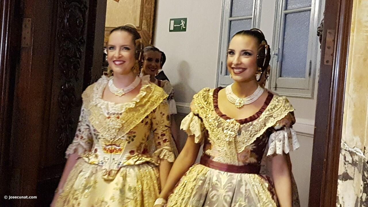 Proclamación de las falleras mayores de Valencia 2018 Rocío Gil y Daniela Gómez (101)