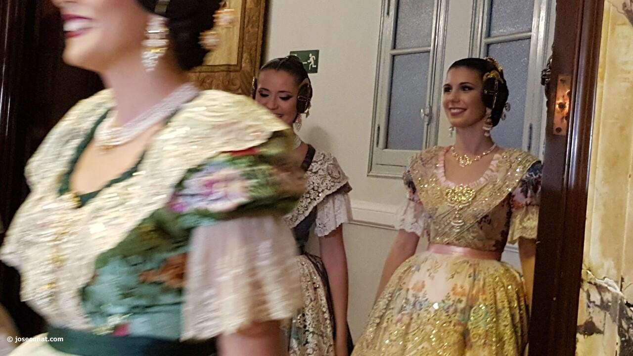 Proclamación de las falleras mayores de Valencia 2018 Rocío Gil y Daniela Gómez (107)
