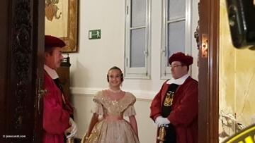 Proclamación de las falleras mayores de Valencia 2018 Rocío Gil y Daniela Gómez (113)